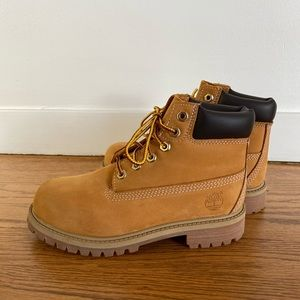 New Timberlan Kids Waterproof leather boots